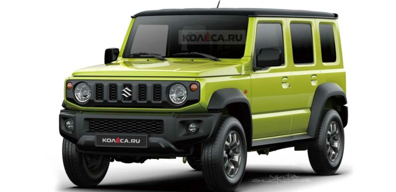 Suzuki Jimny Long Coming In 2022 With Five Doors And Turbo Power?