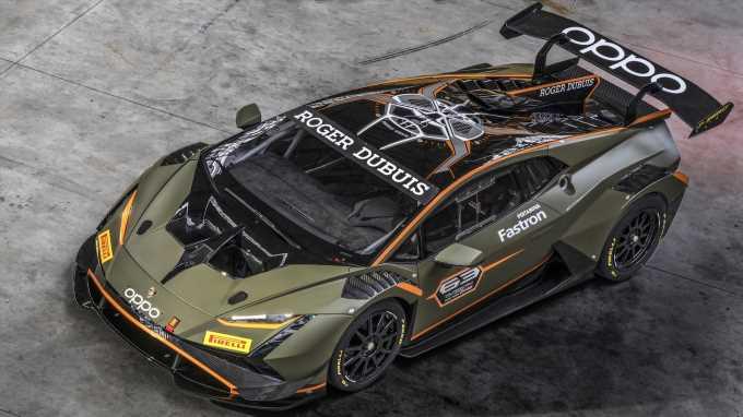 The Lamborghini Huracán Super Trofeo Racer Evolves to Evo2 Spec