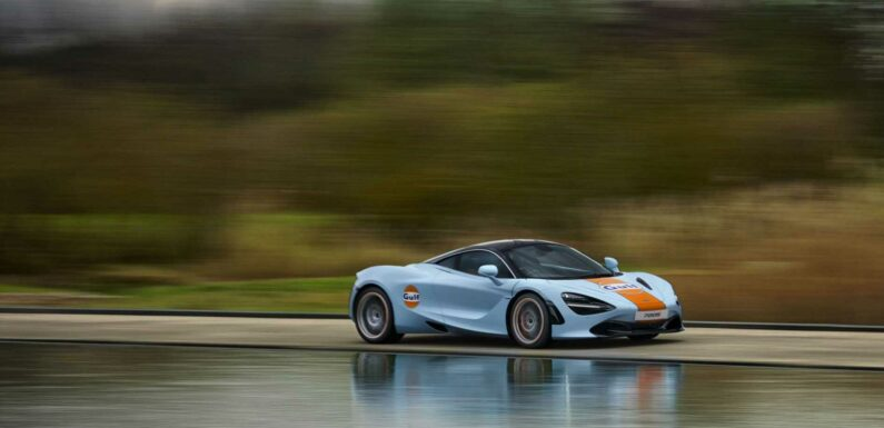 This McLaren 720S Is a Hand-Painted History Lesson