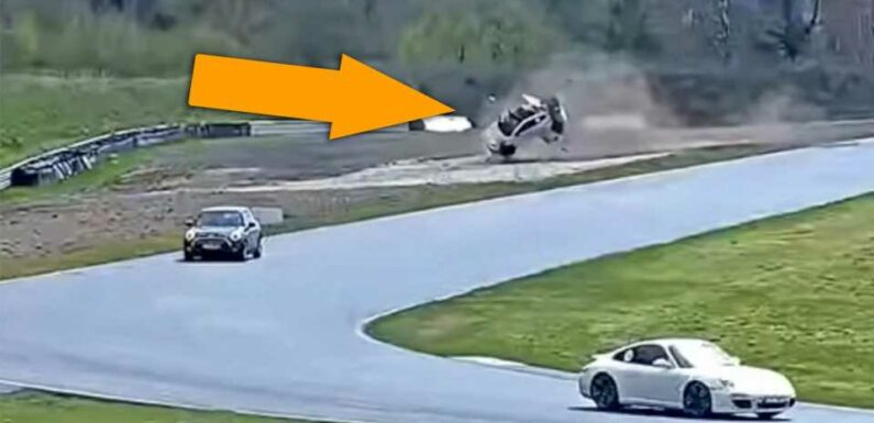 This Terrifying Toyota GR Yaris Crash Shows the Danger of a Simple Track Day