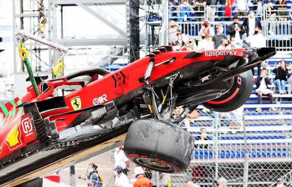 Toto Wolff does not feel Charles Leclerc's crash was deliberate
