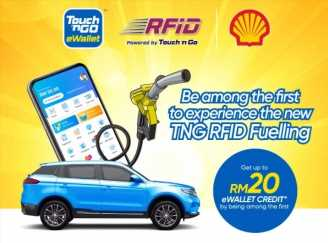 Touch 'n Go announces pilot programme for TNG RFID Fueling at Shell petrol stations – RM20 eWallet credit – paultan.org