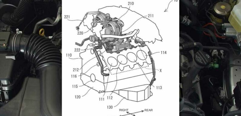 Toyota Has Been Developing a New Twin-Turbo V8, According to These Patents