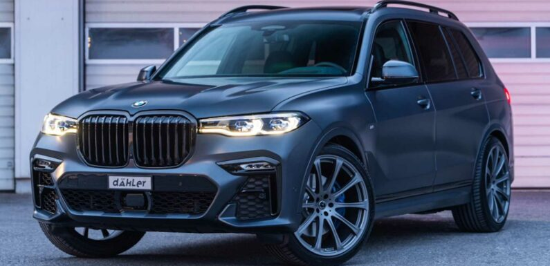 Tuned BMW X7 From Dahler Gives SUV M-Like Performance