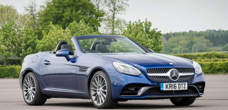 Used Mercedes SLC review