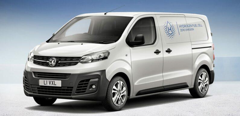 Vauxhall reveals Vivaro-e Hydrogen van coming to UK in 2023