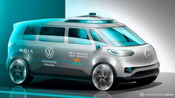 Volkswagen and Argo AI Develop, Test Autonomous ID Buzz