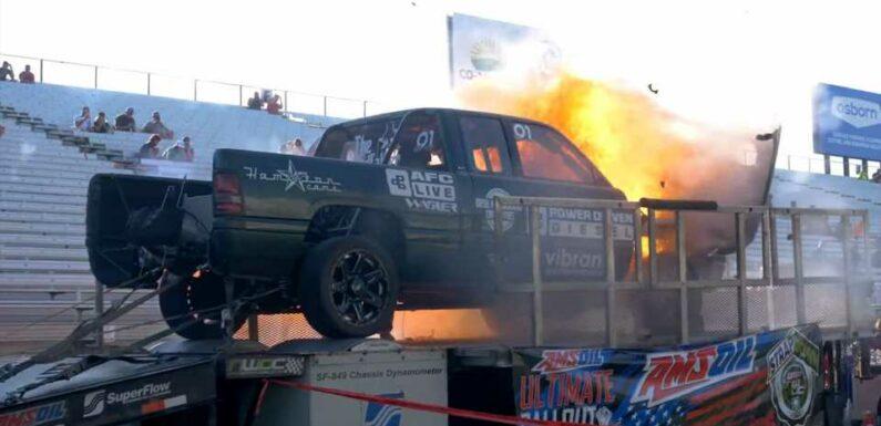 Watch a 2,700-HP Dodge Cummins Truck Explode Twice in the Same Weekend