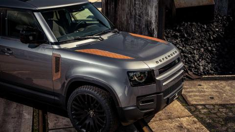 You can now order pre-rusted parts on a Land Rover Defender