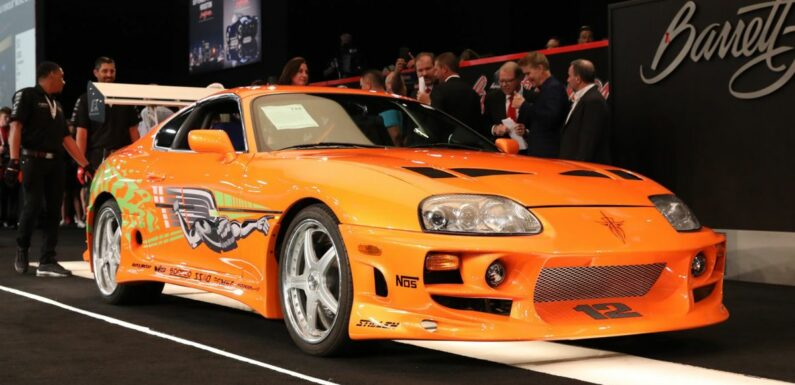 1994 Toyota Supra Mk4 driven by Paul Walker in The Fast and the Furious sold for a record RM2.28 million – paultan.org