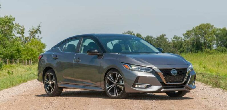 2020-2021 Nissan Sentra recalled for steering issue