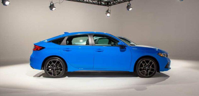 2022 Civic hatch debuts, Ferrari flashes 296 GTB, Jaguar makes EV plans: What's New @ The Car Connection