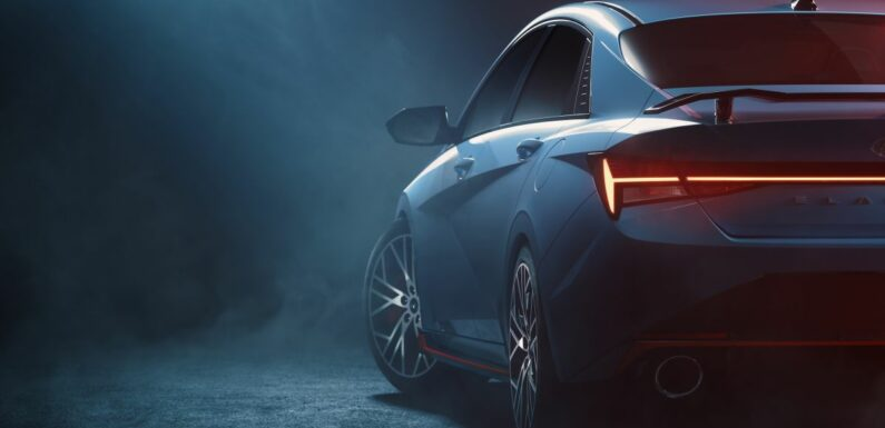 2022 Hyundai Elantra N gets teased in production form – paultan.org