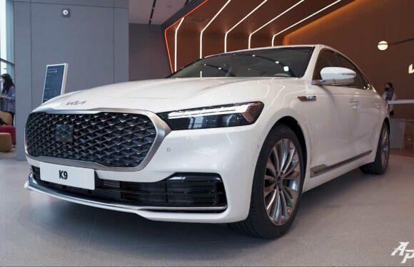 2022 Kia K9 Shows Luxury Features In Detailed Walkaround Video