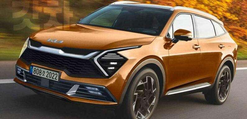2022 Kia Sportage Realistically Rendered After Teaser Images