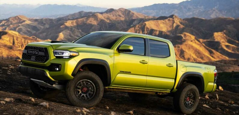 2022 Toyota Tacoma TRD Pro Goes Big to Avoid Going Home