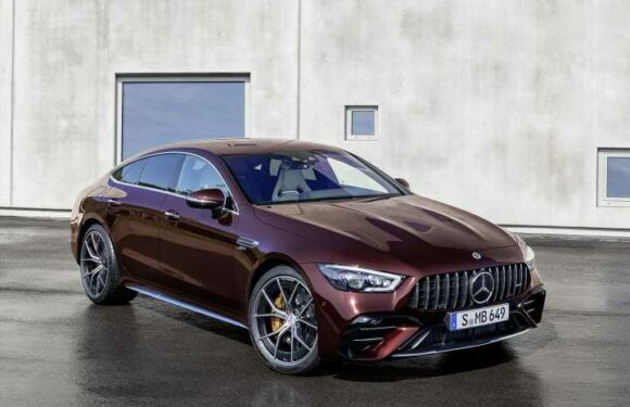 AMG GT 4-Door refreshed for 2021