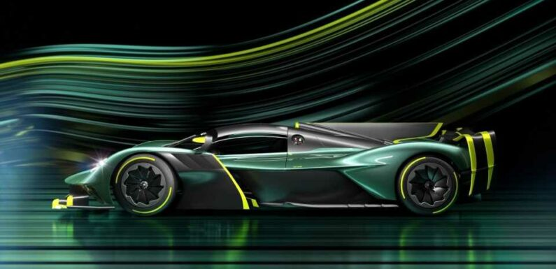 Aston Martin Valkyrie AMR Pro Revs to 11,000 RPM and Pulls Over 3Gs