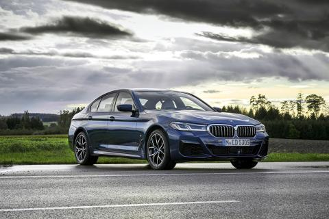 BMW 5 Series facelift launched at Rs. 62.90 lakh
