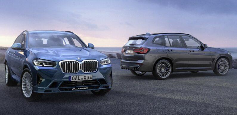 BMW Alpina XD3, XD4 facelift shown – based on G01 X3, G02 X4 LCI; more powerful 3.0L quad-turbo diesel – paultan.org