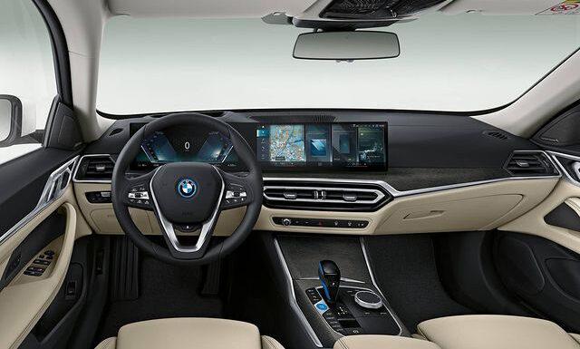 BMW i4 interior photos leaked ahead of EV's full debut – paultan.org