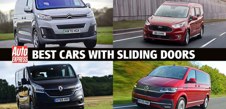 Best cars with sliding doors