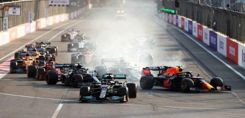 Blame the Americans for Pivotal Standing Restart in F1 Azerbaijan Grand Prix