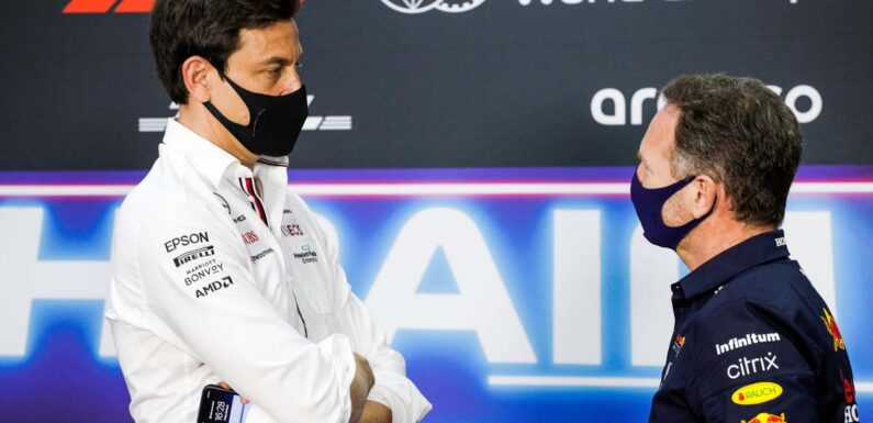 Christian Horner suggests Toto Wolff 'keeps his mouth shut'
