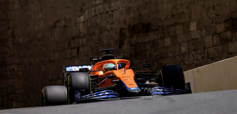 Daniel Ricciardo left with 'no room for escape' in Baku