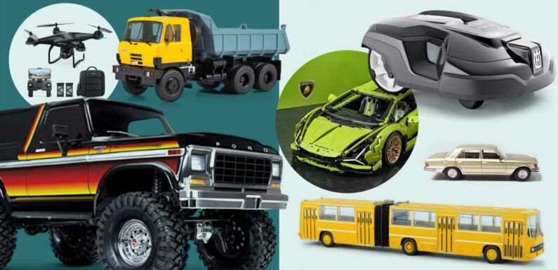 Drones, Robots and Model Cars to Buy for Father's Day