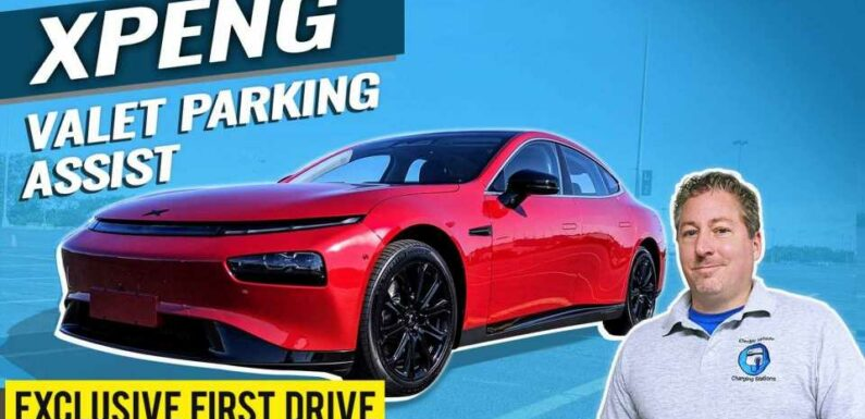 Exclusive: We Check Out XPeng's Valet Parking Assist