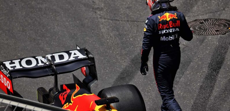 FP3: Max Verstappen crashes out, Pierre Gasly tops frenetic session