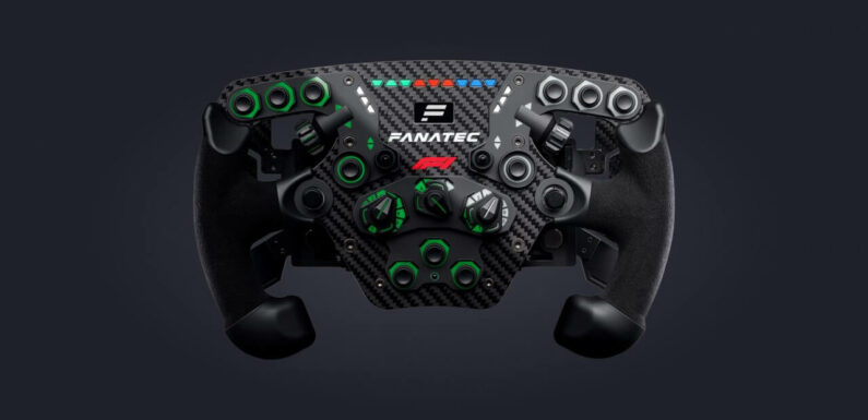 Fanatec Reveals New Limited Edition ClubSport F1 2021 Steering Wheel