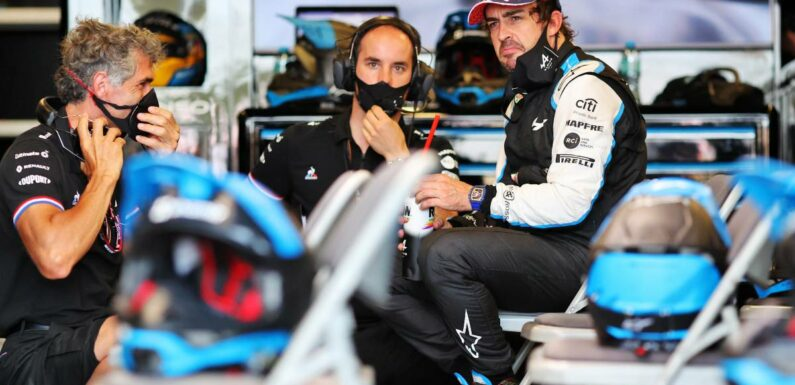 Fernando Alonso risked going into wall with 'all out' approach