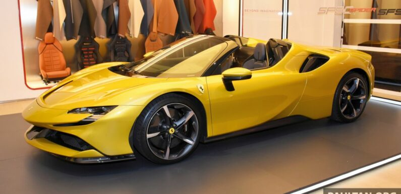 Ferrari SF90 Spider officially introduced in Malaysia – plug-in hybrid goes open top route, from RM2.088 mil – paultan.org