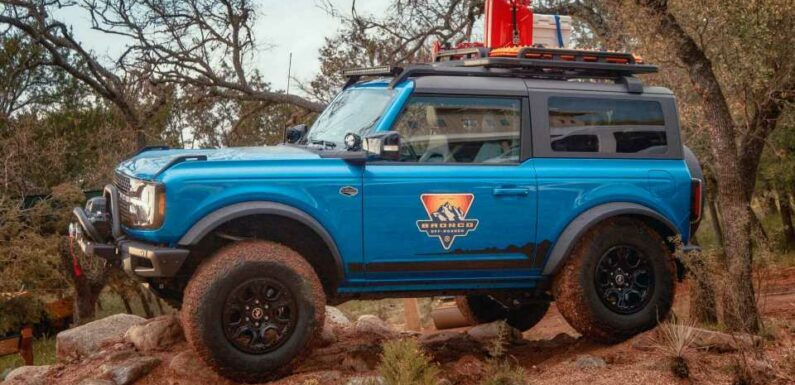 Ford Bronco Off-Road School Will Teach You How To Drive Your SUV