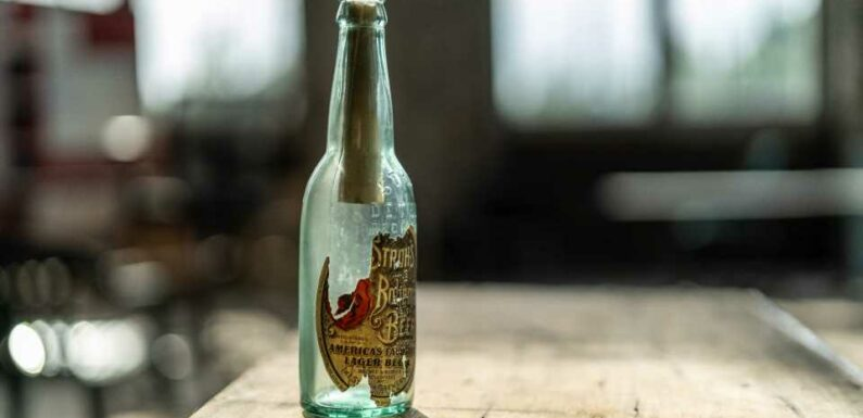Ford Finds 108-Year-Old Message In a Bottle During Michigan Central Station Renovation