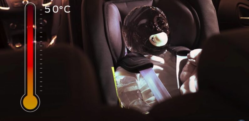 Ford demonstrates heat danger with ice sculptures of child, pets – remember to leave no one in a hot car – paultan.org