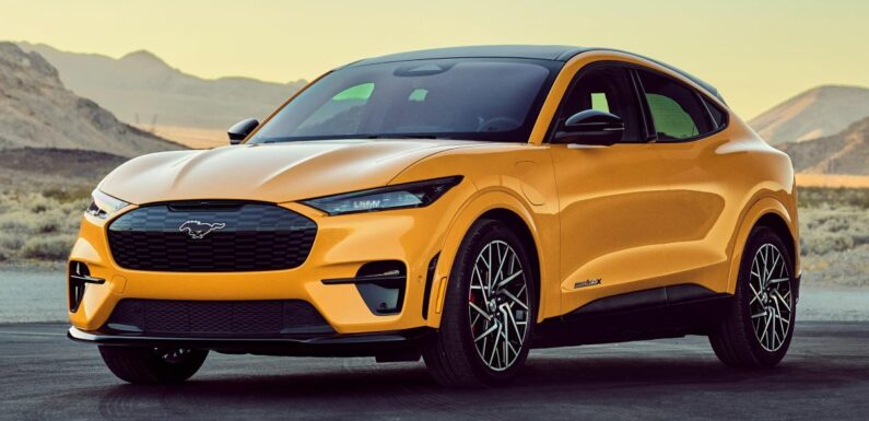 Ford's first VW MEB-based fully electric crossover to get ID.4 tech with US styling – below Mustang Mach-E – paultan.org
