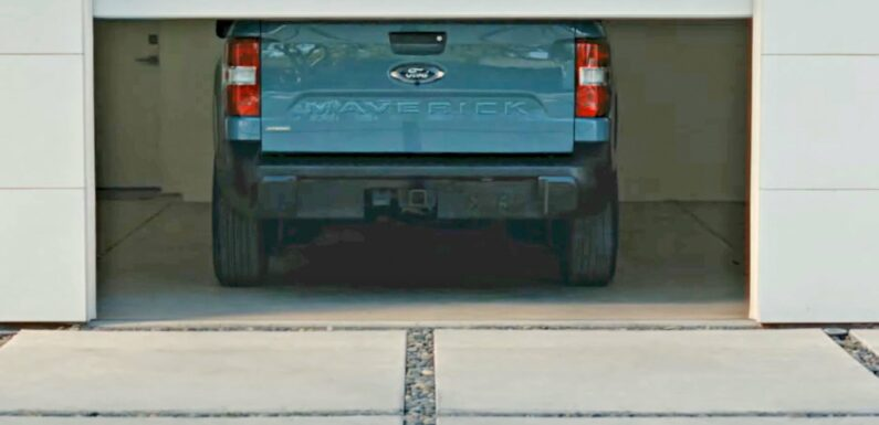 Ford's New Compact Pickup Truck Will Be Called Maverick, and It'll Debut on June 8