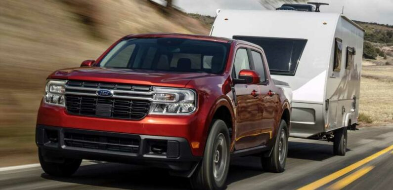 Here's How Small the 2022 Ford Maverick Compact Pickup Truck Actually Is