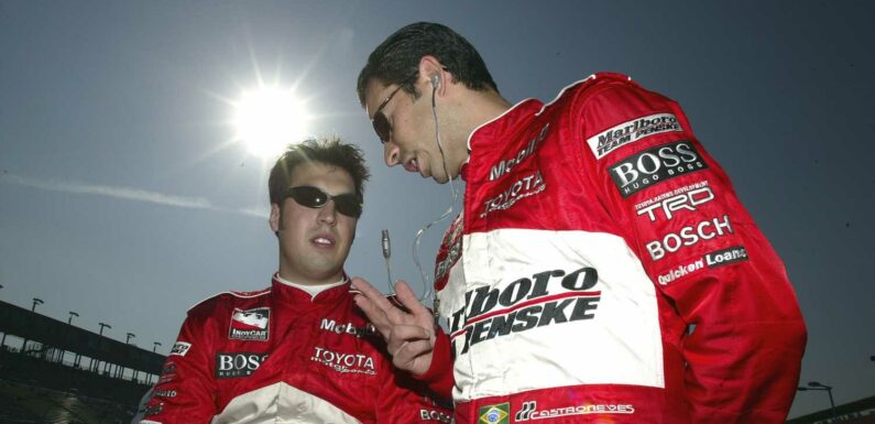 How Sam Hornish Jr. Played a Role in 2 of Helio Castroneves' Indy 500 Victories