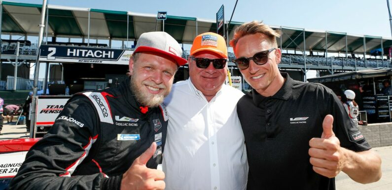 IMSA WeatherTech Series Has Former F1 Driver Kevin Magnussen Smiling Again