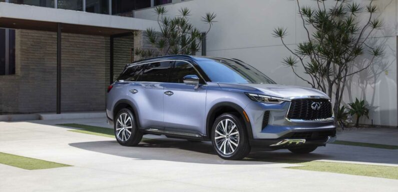 Infiniti QX60 Strives to Stand Out In A Crowd