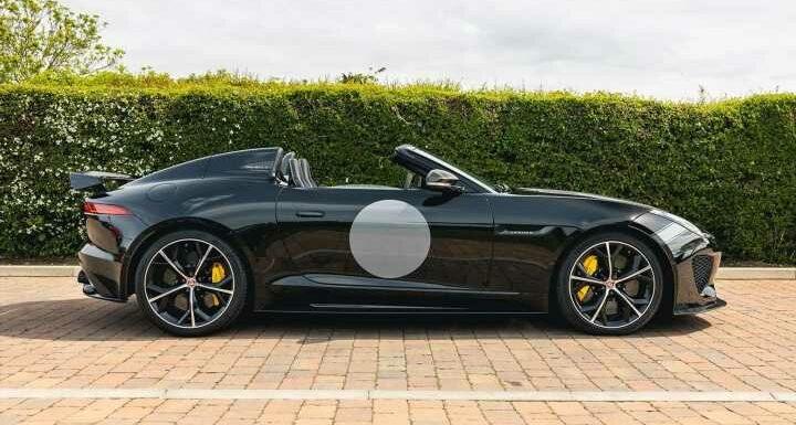Jaguar F-Type Project 7   Spotted