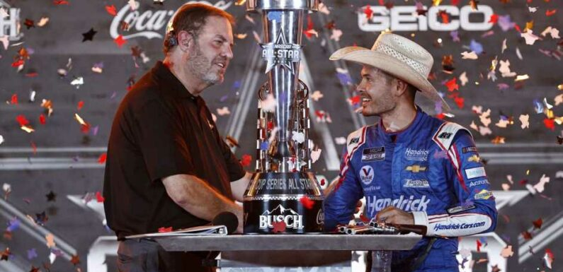 Kyle Larson Wins Zany All-Star Race, Remains Racing's Marquee Attraction