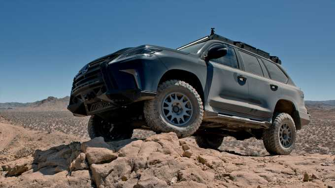 Lexus J201 First Drive Review: The Hardcore Off-Road Lexus SUV