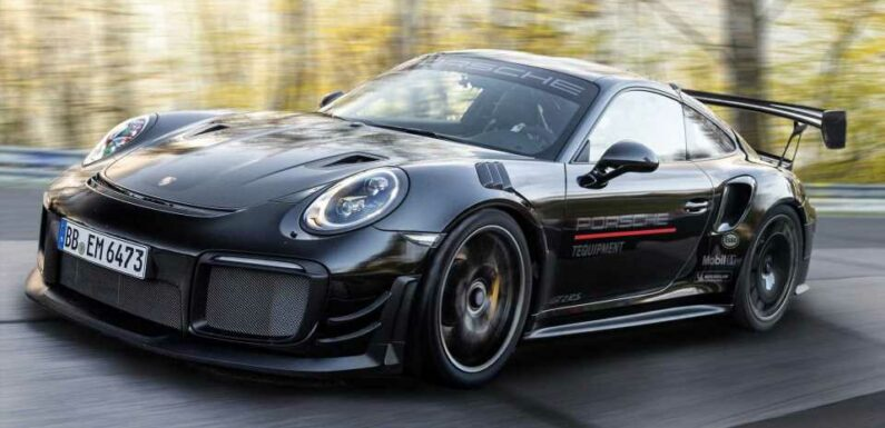 Manthey Performance Porsche 911 GT2 RS Breaks Nurburgring Lap Record