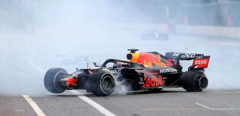 Max Verstappen Not Happy With 'Vague' Explanation Given For F1 Tire Failures in Baku