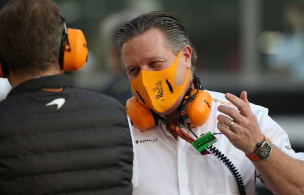 McLaren CEO Zak Brown pulls out of GT4 race after Ojjeh's death